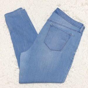 ➕ Old Navy Light Wash Rockstar Skinny Jeans 10B